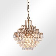 Grace Crystal Chandelier Medium w/Bulb
