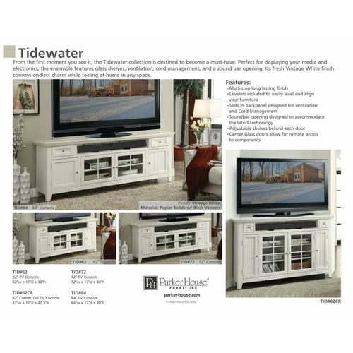 TIDEWATER 72 in. Console Entertainment Wall