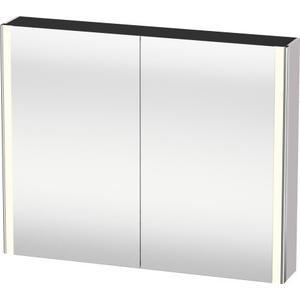 Mirror Cabinet, White Lilac Satin Matte (lacquer)