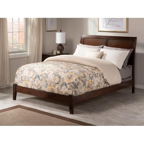 Portland Full Bed in Walnut