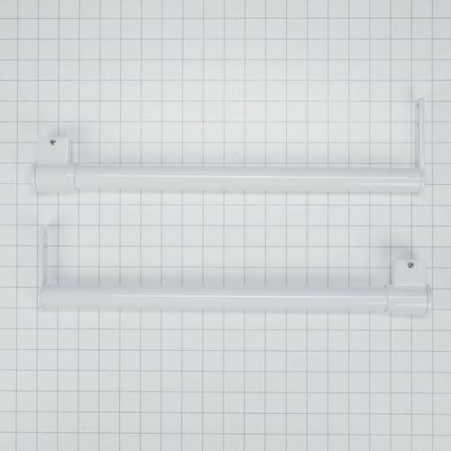 Refrigerator Top Freezer Handle Kit, White
