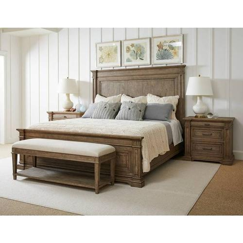 Stanley Furniture - Portico Panel Bed - Drift / King