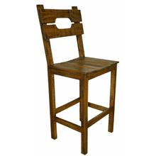 """See Details - 30"""" 12w Tobacco Rcl Ws Stool"""