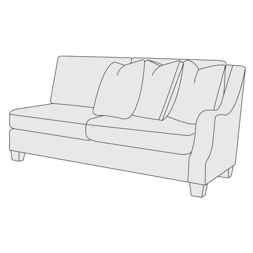 Larson Right Arm Loveseat