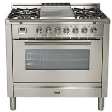 "36"" - 5 Burner, Single Oven w/ Griddle in Stainless Steel***FLOOR MODEL CLOSEOUT PRICING***"