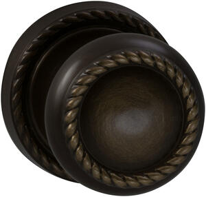 Interior Traditional Knob Latchset in (SB Shaded Bronze, Lacquered) Product Image