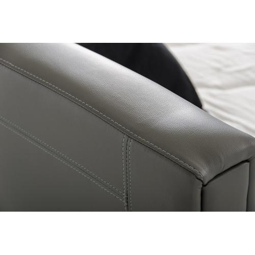 VIG Furniture - Modrest Ramona Modern Grey Leatherette Bed