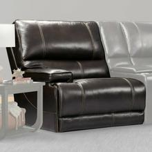 View Product - WHITMAN - VERONA COFFEE - Powered By FreeMotion Power Cordless Left Arm Facing Recliner
