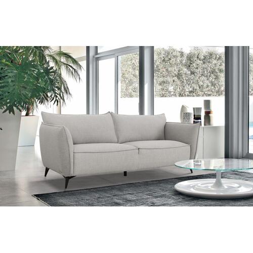 VIG Furniture - Divani Casa Jihae - Modern Grey Loveseat