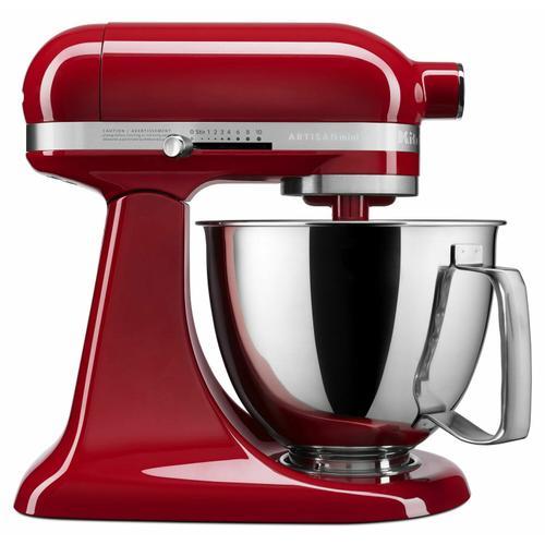 Gallery - Artisan® Mini 3.5 Quart Tilt-Head Stand Mixer - Empire Red