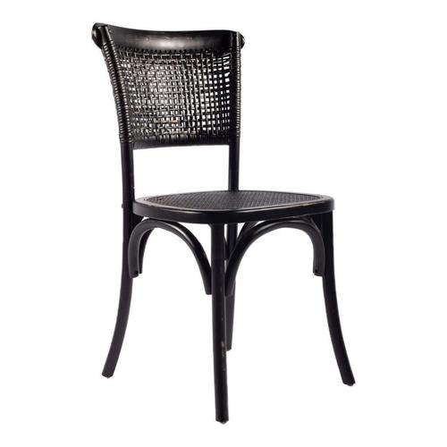 Moe's Home Collection - Churchill Dining Chair Antique Black-m2