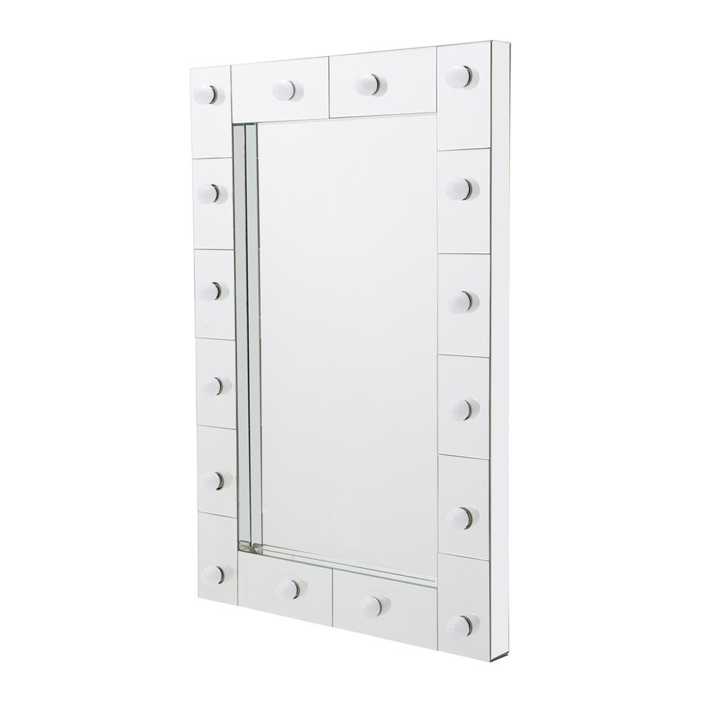 See Details - Rectangular LED Wall Mirror 8601