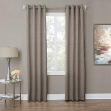 See Details - Aspen 50x84 Grommet Top PanelWeighted Corners Taupe