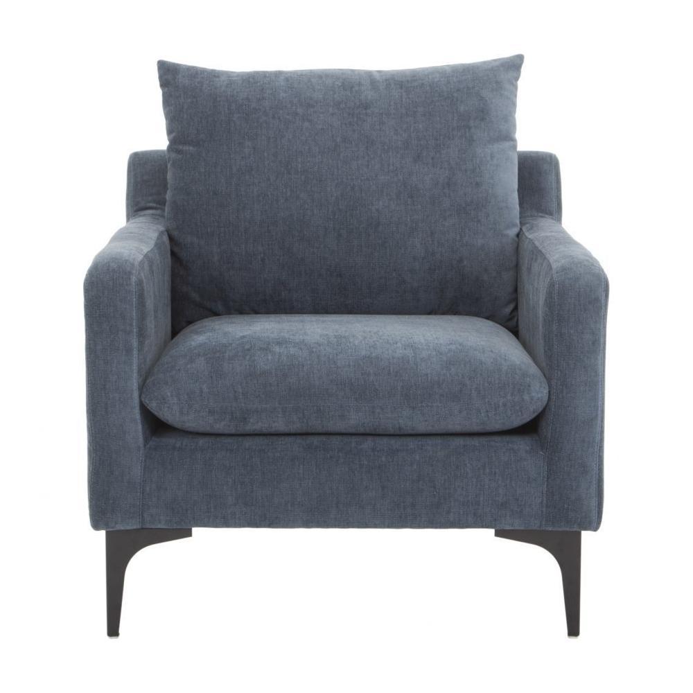See Details - Paris Armchair Blue