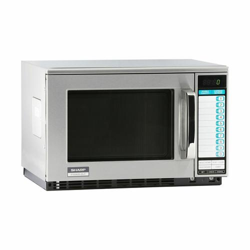 Sharp - Sharp Heavy-Duty Commercial Microwave Oven with 2100 Watts