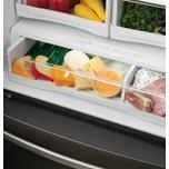 GE Profile GE Profile™ Series ENERGY STAR® 22.1 Cu. Ft. Counter-Depth French-Door Refrigerator with Hands-Free AutoFill