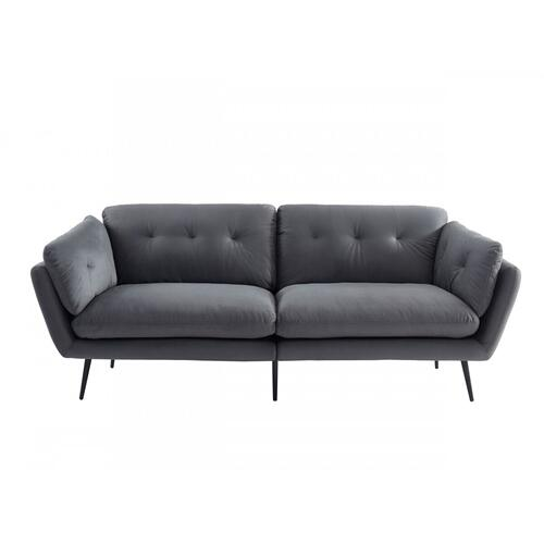 VIG Furniture - Divani Casa Cody - Modern Grey Fabric Sofa