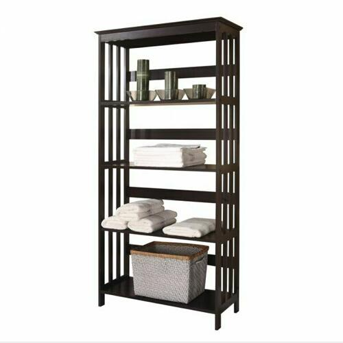 ACME Opeli Shelf Rack - 92099 - Espresso