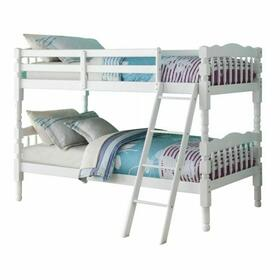 ACME Homestead T/T Bunk Bed - HB/FB - 02298 - White