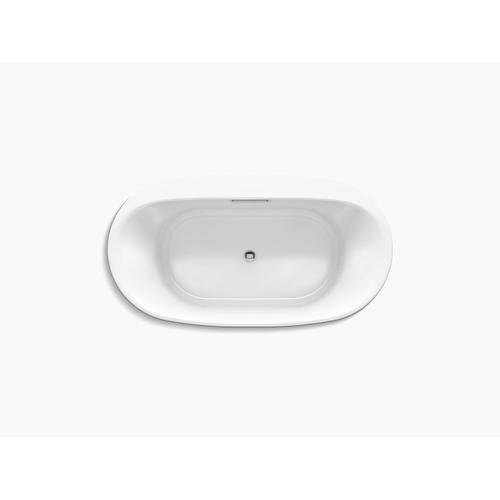 "Biscuit 66"" X 36"" Drop-in Bath"