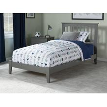 Mission Twin Bed in Atlantic Grey