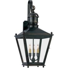 View Product - E. F. Chapman Sussex 3 Light 27 inch Bronze Outdoor Wall Lantern