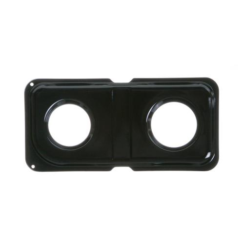 Range Gas Double Black Porcelain Pan