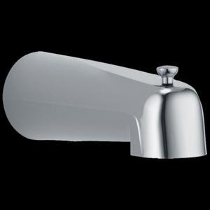 Chrome Tub Spout - Pull-Up Long Diverter Product Image