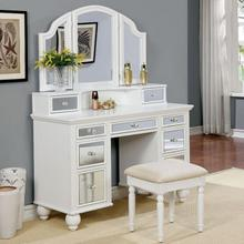 See Details - Tracy Vanity W/ Stool