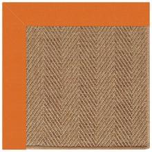 "View Product - Islamorada-Herringbone Canvas Tangerine - Rectangle - 24"" x 36"""