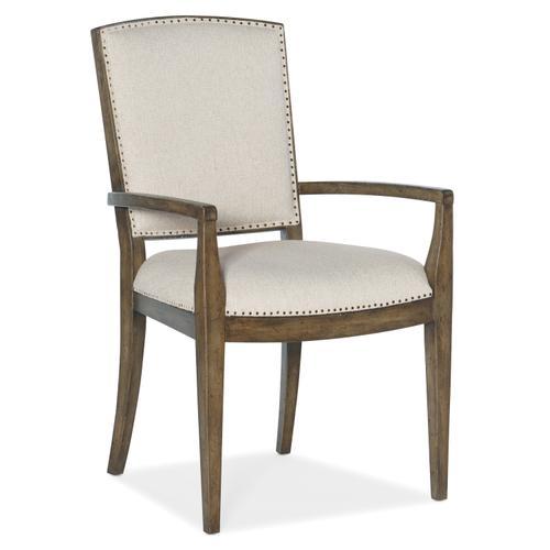 Hooker Furniture - Sundance Carved Back Arm Chair-2 per ctn/price ea