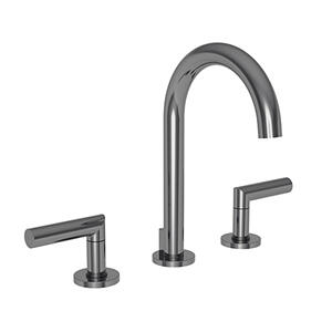 Midnight Chrome Widespread Lavatory Faucet