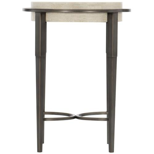 Bernhardt - Barclay Metal Round Drink Table