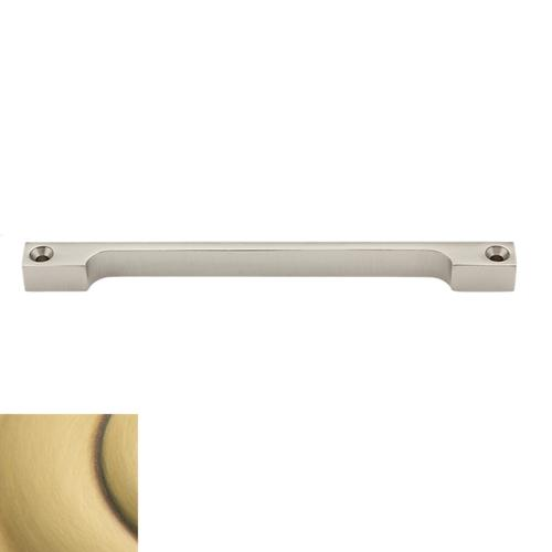Baldwin - Satin Brass and Brown Rabbeted Piece