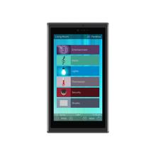 See Details - 5-inch In-wall Touch Screen, Black + Diamond-polished Aluminum accents