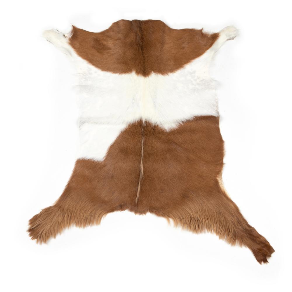 See Details - Brown & White Cover Angora Short Hair Throw