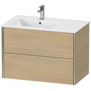 Duravit - Vanity Unit Wall-mounted, Mediterranean Oak (real Wood Veneer)