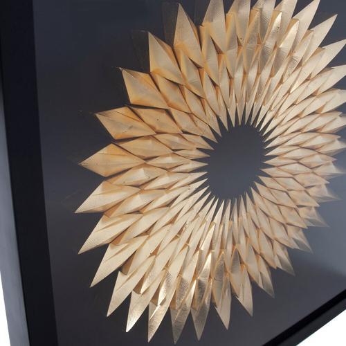 Howard Elliott - Inca Star of Gold Framed Art