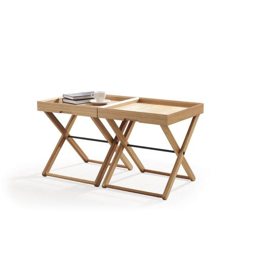 Teline Tray Table, Caramelized