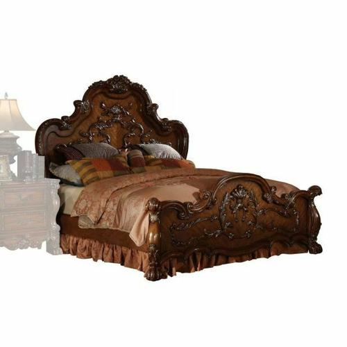 ACME Dresden Queen Bed - 12140Q - Cherry Oak