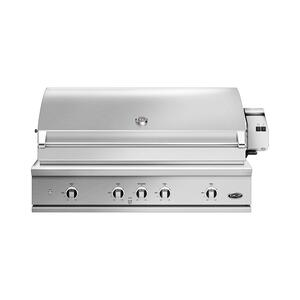 "Dcs48"" Grill, Rotisserie and Charcoal, Lp Gas"