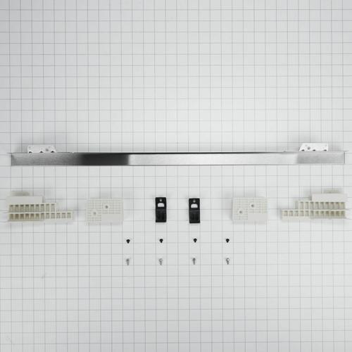 "KitchenAid - 30"" Combination Wall Range Flush Installation Trim Kit, Stainless Steel - Other"
