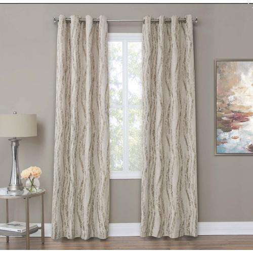 Amini - Dali 50x84 Grommet Top Panel Weighted Corners Linen