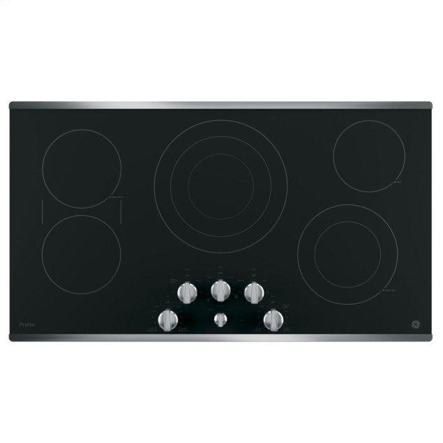 "GE Profile 36"" Built-In Knob Control Cooktop"