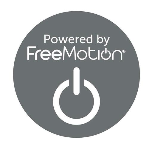 WHITMAN - VERONA AZURE - Powered By FreeMotion Power Cordless Sofa