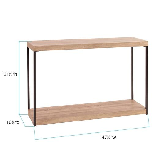 Howard Elliott - Wood & Metal Console Table
