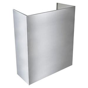 Optional Standard Depth Flue Cover for EPD61 Series Range Hood in Stainless Steel