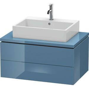 Vanity Unit For Console, Stone Blue High Gloss (lacquer)