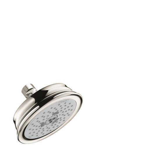 Polished Nickel Showerhead 3-Jet, 2.0 GPM