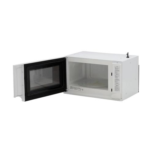 Sharp - 1.5 cu. ft. 1100W Sharp White Over-the-Counter Carousel Microwave Oven